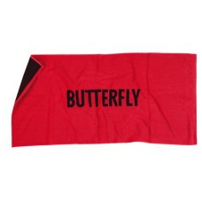 Butterfly Towel Logo Red