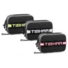 Tibhar Carbon Double Rectangular Case Black/Red