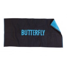 Butterfly Towel Logo Blue