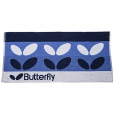 Butterfly Wing Towel Blue